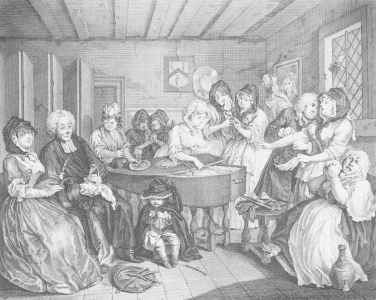 Picture no: 31000665 A Harlot's Progress, plate VI, The Funeral Created by: Hogarth, William