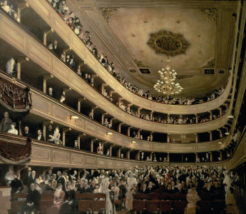 Picture no: 31000718 The Auditorium of the Old Castle Theatre, 1888 Created by: Klimt, Gustav