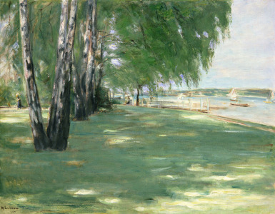 Picture no: 31000755 The Garden of the Artist in Wannsee, 1918 Created by: Liebermann, Max