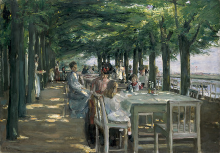 Picture no: 31000757 The Terrace at the Restaurant Jacob in Nienstedten on the Elbe, 1902 Created by: Liebermann, Max