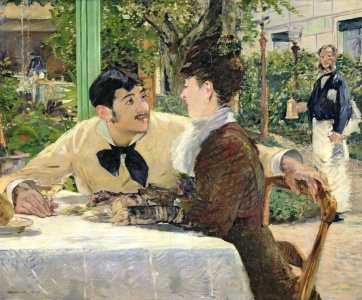 Picture no: 31000780 The Garden of Pere Lathuille, 1879 Created by: Manet, Edouard