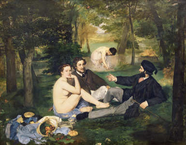 Picture no: 31000782 Dejeuner sur l'Herbe, 1863 Created by: Manet, Edouard