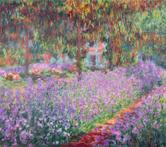 Picture no: 31000867 The Artist's Garden at Giverny, 1900 Created by: Monet, Claude