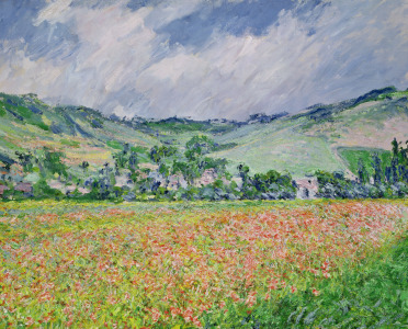 Picture no: 31000881 The Poppy Field near Giverny, 1885 Created by: Monet, Claude