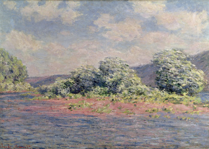 Picture no: 31000901 The Seine at Port-Villez, c.1890 Created by: Monet, Claude
