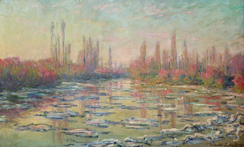 Picture no: 31000902 The Thaw on the Seine, near Vetheuil, 1880 Created by: Monet, Claude