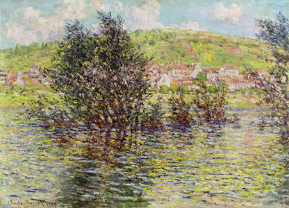 Picture no: 31000904 Vetheuil, View from Lavacourt, 1879 Created by: Monet, Claude