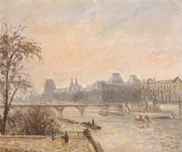 Picture no: 31000984 The Seine and the Louvre, 1903 Created by: Pissarro, Camille