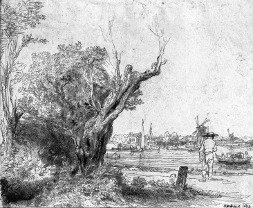 Picture no: 31001045 View of Omval, near Amsterdam, 1645 Created by: Rembrandt Harmenszoon van Rijn
