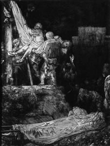 Picture no: 31001050 The Descent from the Cross with a Torch, 1654 Created by: Rembrandt Harmenszoon van Rijn