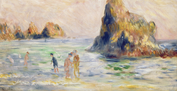 Picture no: 31001080 Moulin Huet Bay, Guernsey, c.1883 Created by: Renoir, Pierre-Auguste