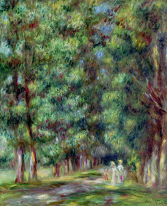 Picture no: 31001144 Path in a Wood, 1910 Created by: Renoir, Pierre-Auguste