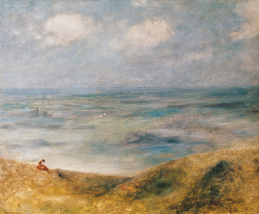 Picture no: 31001146 View of the Sea, Guernsey Created by: Renoir, Pierre-Auguste