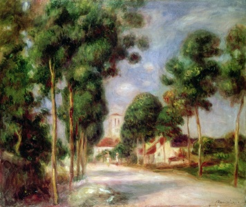 Picture no: 31001151 The Road to Essoyes, 1901 Created by: Renoir, Pierre-Auguste
