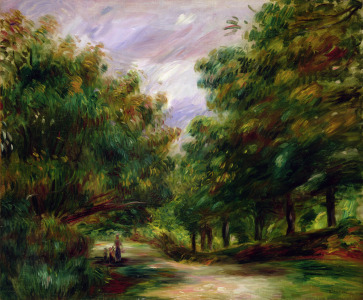 Picture no: 31001156 The road near Cagnes, 1905 Created by: Renoir, Pierre-Auguste