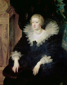 Picture no: 31001195 Portrait of Anne of Austria c.1622 Created by: Rubens, Peter Paul