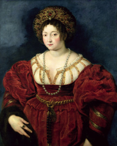 Picture no: 31001198 Posthumous portrait of Isabella d'Este, Marchioness of Mantua , 1605-8 Created by: Rubens, Peter Paul