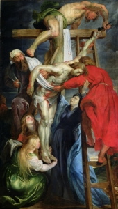 Picture no: 31001221 The Descent from the Cross, c.1614-15 Created by: Rubens, Peter Paul