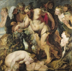 Picture no: 31001223 The Drunken Silenus, c.1617-18 Created by: Rubens, Peter Paul