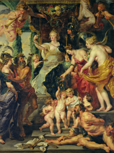 Picture no: 31001225 The Felicity of the Regency, 1621-25 Created by: Rubens, Peter Paul