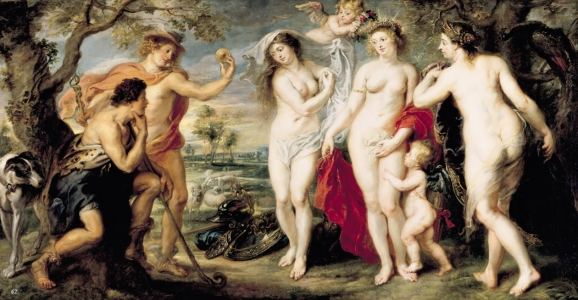 Picture no: 31001229 The Judgement of Paris, 1639 Created by: Rubens, Peter Paul