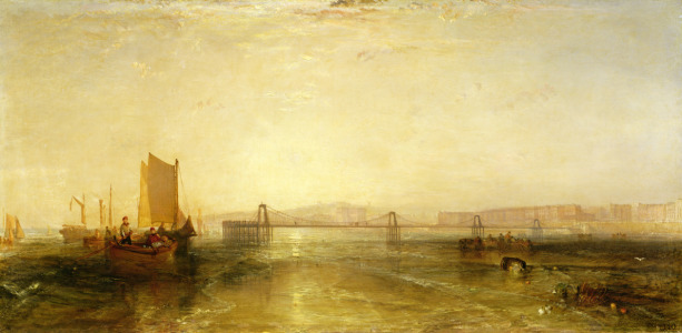 Picture no: 31001251 Brighton from the Sea, c.1829 Created by: Turner, Joseph Mallord William