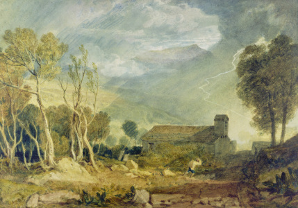 Picture no: 31001268 Patterdale Old Church, c.1810-15 Created by: Turner, Joseph Mallord William