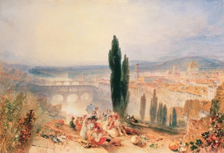 Picture no: 31001275 Florence from near San Miniato, 1828 Created by: Turner, Joseph Mallord William