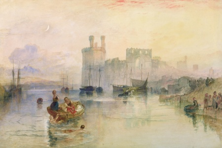 Picture no: 31001296 View of Carnarvon Castle Created by: Turner, Joseph Mallord William