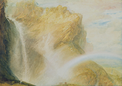 Picture no: 31001302 Upper Falls of the Reichenbach Created by: Turner, Joseph Mallord William