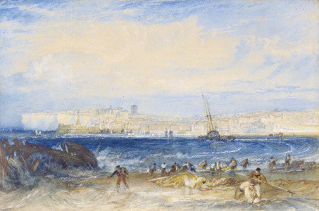 Picture no: 31001304 Margate, c.1822 Created by: Turner, Joseph Mallord William