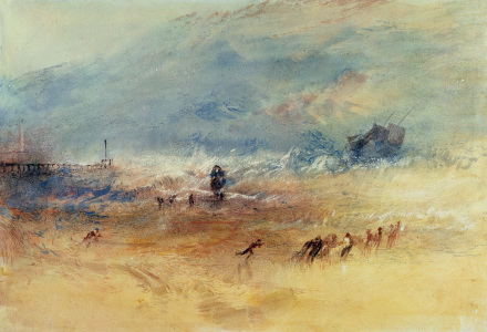 Picture no: 31001310 Yarmouth Sands, c.1840 Created by: Turner, Joseph Mallord William