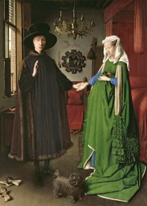 Picture no: 31001317 The Portrait of Giovanni Arnolfini and his Wife Giovanna Cenami 1434 Created by: van Eyck, Hubert & Jan