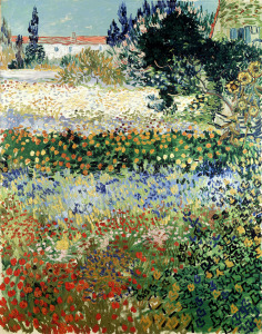 Picture no: 31001355 Garden in Bloom, Arles, July 1888 Created by: van Gogh, Vincent