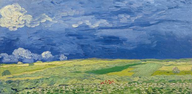 Picture no: 31001361 Wheatfields under Thunderclouds, 1890 Created by: van Gogh, Vincent