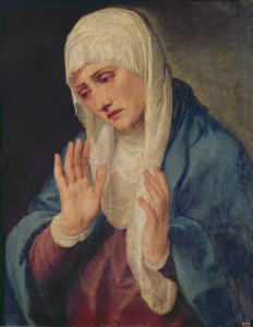Picture no: 31001382 Mater Dolorosa, 1555 Created by: Vecellio, Tiziano