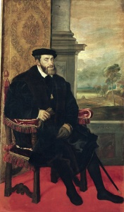 Picture no: 31001386 Seated Portrait of Emperor Charles V, 1548 Created by: Vecellio, Tiziano