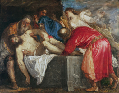 Picture no: 31001399 The Entombment of Christ, 1559 Created by: Vecellio, Tiziano