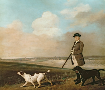 Picture no: 31001432 Sir John Nelthorpe, 6th Baronet out Shooting with his Dogs in Barton Field, Linc Created by: Stubbs, George