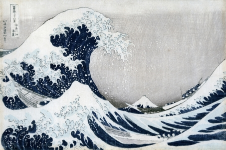 Picture no: 31001539 The Great Wave of Kanagawa, from the series '36 Views of Mt. Fuji' Created by: Hokusai, Katsushika