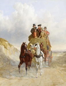 Picture no: 31001585 The Royal Mail Coach on the Road, 1841 Created by: Herring Snr, John Frederick