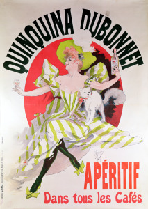 Picture no: 31001609 Poster advertising 'Quinquina Dubonnet' aperitif, 1895 Created by: Cheret, Jules
