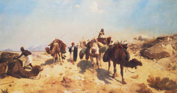 Picture no: 31001629 Crossing the Desert Created by: Gerome, Jean Leon