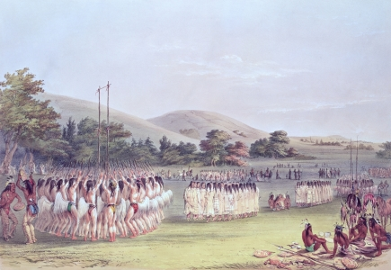 Picture no: 31001718 Choctaw Ball-Play Dance, 1834-35 Created by: Catlin, George
