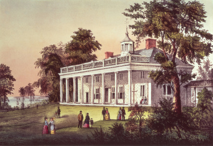 Picture no: 31001846 Washington's Home, Mount Vernon, Virginia, pub. by Currier & Ives Created by: Anonyme Künstler