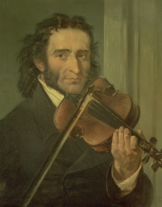 Picture no: 31001859 Portrait of Niccolo Paganini Created by: Anonyme Künstler