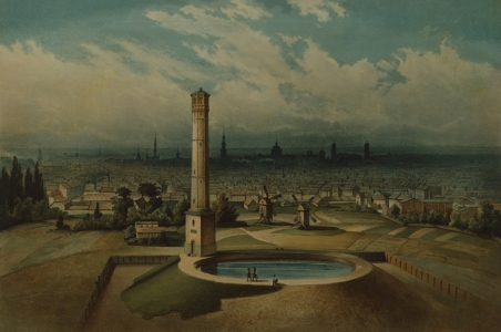 Picture no: 31001866 Berlin waterworks, c.1860 Created by: Anonyme Künstler