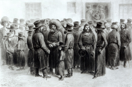 Picture no: 31001895 Jewish Traders and Merchants, printed by Auguste Bry Created by: Anonyme Künstler