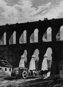 Picture no: 31001906 Aqueduct at Rio, from 'Bresil, Colombie et Guyanes',by Ferdinand Denis and Cesar Created by: Anonyme Künstler