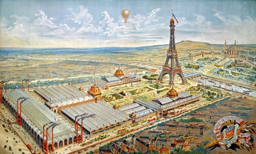 Picture no: 31001946 General View of the Universal Exhibition, Paris, 1889 Created by: Anonyme Künstler